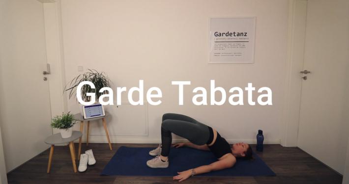 Gardesports | Fit für Gardetanz | Garde Tabata