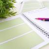Platz zur Planung deiner Positionen und Schritte