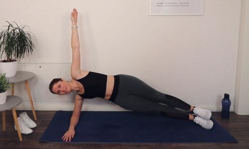 Lisa von keep-dancing im Side-Plank