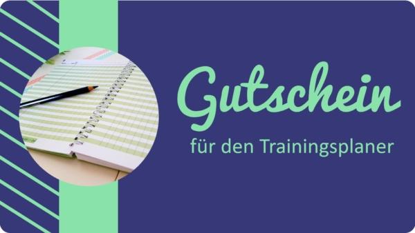 Gutschein für den Trainingsplaner 2.0